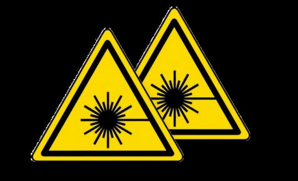 Immagine di Adesivo pericolo radiazioni Handy 10