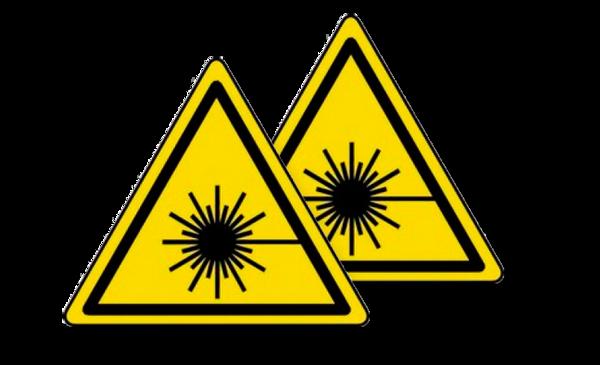 Immagine di Adesivo pericolo radiazioni Handy Pro