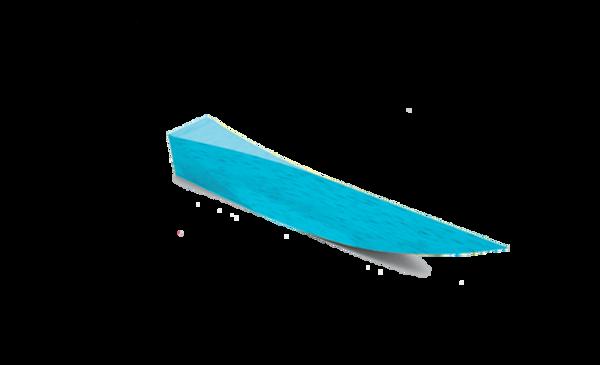Immagine di Cunei in legno Azzurro / 12 mm (S) - 1000 pz
