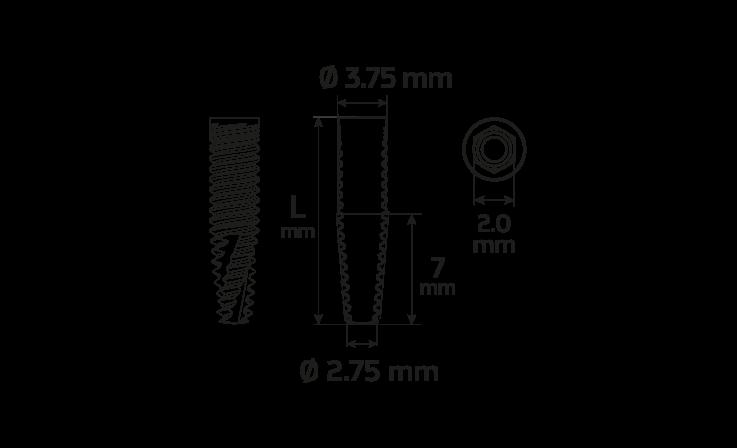 Immagine di Impianto PCA Ø3.75 / 13.0
