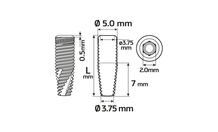 Immagine di Impianto PCA Ø5.0 / 8.0