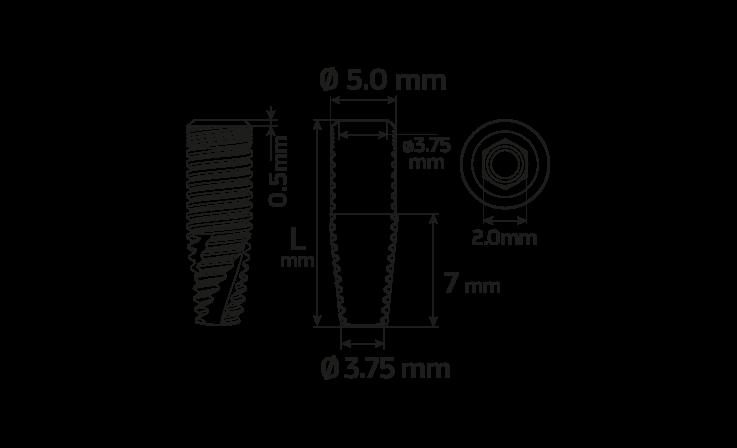 Immagine di Impianto PCA Ø5.0 / 16.0