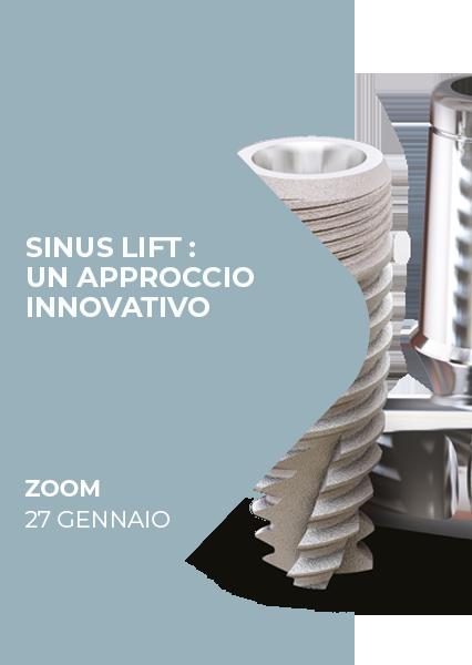 """Immagine di Webinar """"Sinus Lift: Un approccio innovativo"""""""
