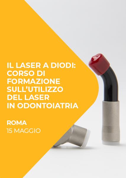Immagine di Il laser a diodi: corso di formazione sull'utilizzo del laser a diodo in odontoiatria