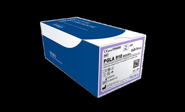 Immagine di PGLA910-Biocryl / Dorso tagliente 1/2 - 17 mm - Calibro 4/0