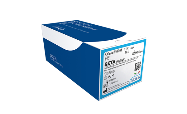 Immagine di SETA-Biosilk / Tapercut 3/8 - 17 mm - Calibro 5/0