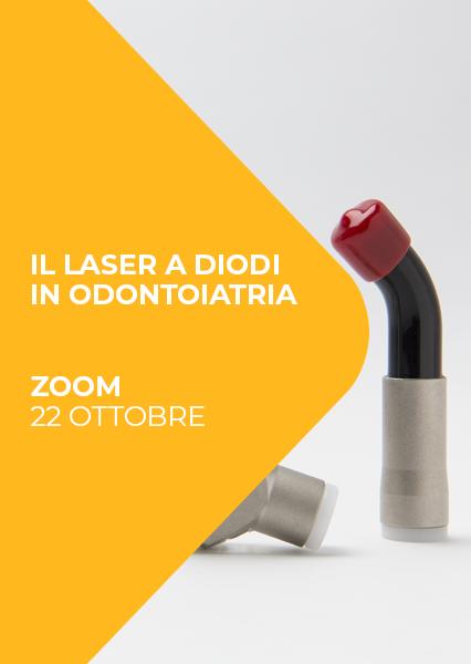 """Immagine di Webinar """"Il laser a diodi in odontostomatologia: cenni di utilizzo in odontoiatria e medicina estetica dei tessuti periorali"""""""